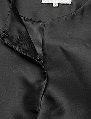 By Malina - Cleo blouse - kortärmade blusar - black - 6