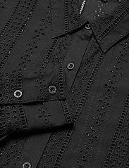 By Malina - Juno blouse - långärmade skjortor - black - 3