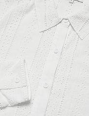By Malina - Juno blouse - långärmade skjortor - white - 2