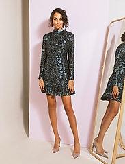 By Malina - Lively dress - festklänningar - black sparkle - 4