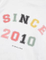 By Malina - Since 2010 tee - t-shirts - white - 5