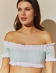 By Malina - Amelle bikini top - góry strojów kąpielowych - white - 4