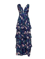 Allegra dress - AZURE ROSE