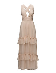 Allegra dress - DUSTY PINK