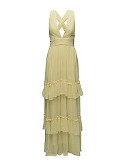 Allegra dress - LIGHT LEMON