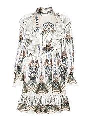 Ava mini dress - ROMANA WHITE
