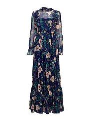 Ava dress - AZURE ROSE