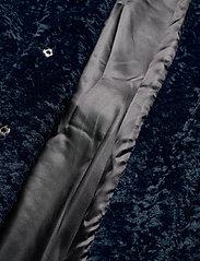 By Malina - Adrielle faux fur coat - faux fur - indigo blue - 6