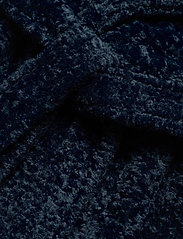By Malina - Adrielle faux fur coat - faux fur - indigo blue - 8