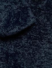 By Malina - Adrielle faux fur coat - faux fur - indigo blue - 9