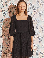 By Malina - Samira dress - sommerkjoler - black - 0
