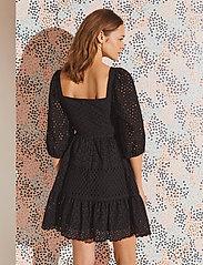By Malina - Samira dress - sommerkjoler - black - 3