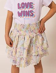 By Malina - Mini Felica skirt - röcke - summer blooms - 3
