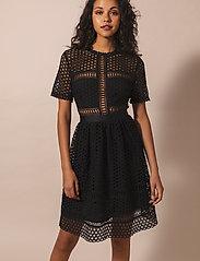 By Malina - Emily dress - cocktailklänningar - black - 0
