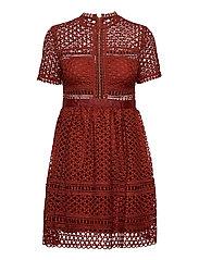 Emily dress - BURNT HENNA