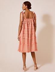 By Malina - Blanca dress - midi jurken - peach blush - 4