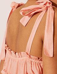 By Malina - Blanca dress - midi jurken - peach blush - 5