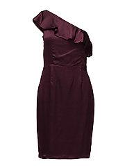 Tulip dress - ROSEWOOD