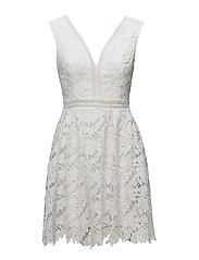 Alessia mini dress - CLOUDY WHITE