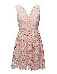 Alessia mini dress - DUSTY PINK