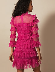 By Malina - Carmine mini dress - cocktailklänningar - cerise - 3