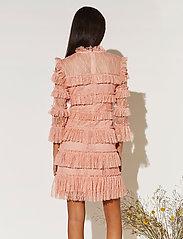 By Malina - Carmine mini dress - cocktailklänningar - coral rose - 3
