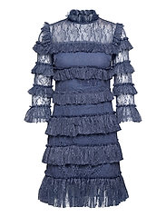 Carmine mini dress - INDIGO BLUE