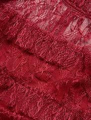 By Malina - Carmine mini dress - cocktailklänningar - ruby red - 2