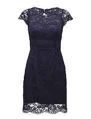 Leoni dress - DARK BLUE