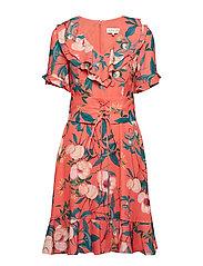 Hannah dress - DAIQUIRI ROSE