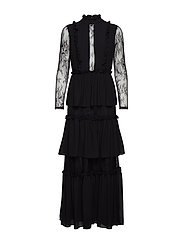 Gina maxi dress - BLACK