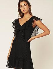 By Malina - Luisa dress - festklänningar - black - 0