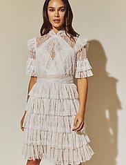 By Malina - Liona dress - cocktailklänningar - white - 0