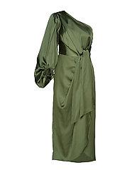 Leontine dress - HERB GREEN