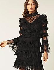 By Malina - Rosa dress - cocktailklänningar - black - 0