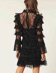 By Malina - Rosa dress - cocktailklänningar - black - 5