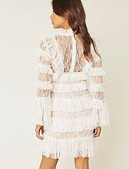 By Malina - Rosa dress - cocktail-kjoler - white - 5