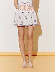 By Malina - Cora skirt - korta kjolar - white - 4