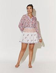 By Malina - Cora skirt - korta kjolar - white - 7