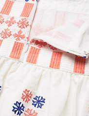 By Malina - Cora skirt - korta kjolar - white - 9