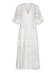 Olympia kaftan dress - WHITE