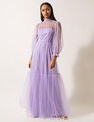 By Malina - Melany maxi dress - maxi sukienki - violet - 0