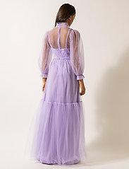 By Malina - Melany maxi dress - maxi sukienki - violet - 3