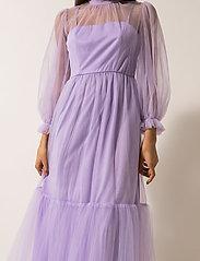 By Malina - Melany maxi dress - maxi sukienki - violet - 4