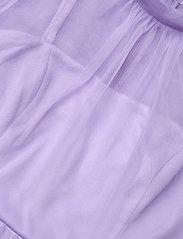 By Malina - Melany maxi dress - aftonklänningar - violet - 2
