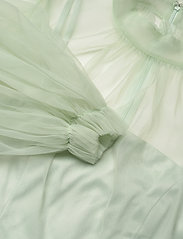 By Malina - Melany mini dress - festklänningar - aqua - 2
