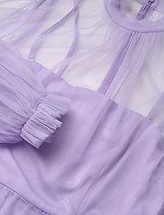 By Malina - Melany mini dress - festklänningar - violet - 2