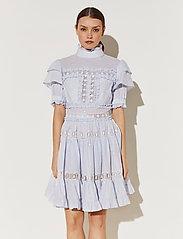 By Malina - Iro mini dress - spetsklänningar - sky blue - 0