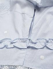 By Malina - Iro mini dress - spetsklänningar - sky blue - 4