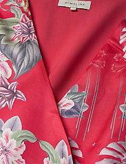 By Malina - Lydia dress - sommarklänningar - electric jungle pink coral - 2